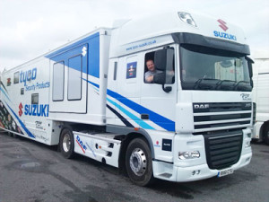 Specialist motorcycle and race transport to Europe