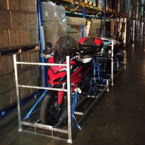 Shipping and motorcycle transport to Europe